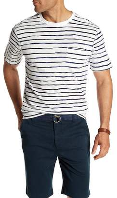 Threads 4 Thought River Striped Organic Cotton Crew Neck Tee