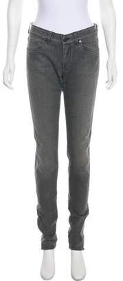 Stella McCartney Zipper Embellished Skinny Jeans