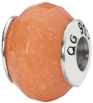 Prerogatives Sterling Peach Quartz Gemstone Bead