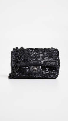 Chanel What Goes Around Comes Around Sequin Half Flap Mini Bag