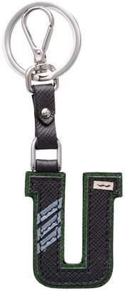 Prada Saffiano leather Trick keyring