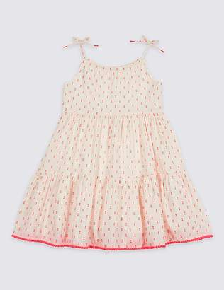 Marks and Spencer Cotton Rich Dress (3 Months - 7 Years)