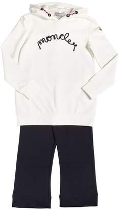 Moncler Cotton Sweat Dress & Leggings