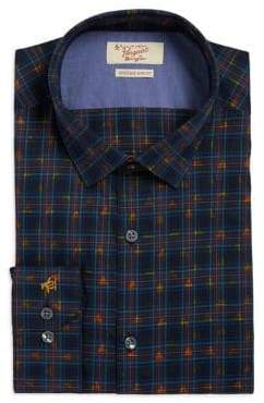 Original Penguin Penguin Slim Fit Plaid Dress Shirt