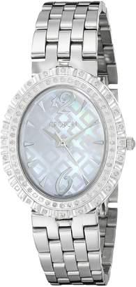 Croton Watches Women's CN207507SSMP Ballroom Analog Display Quartz Silver Watch