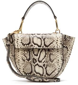 61c636b6e4 Wandler Hortensia Mini Python Effect Leather Bag - Womens - Python