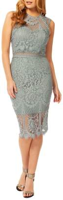 Occasion By Dex Lace Sheath Dress