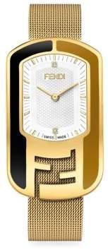 Chameleon Diamond Stainless Steel Bracelet Watch