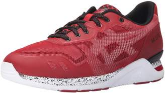 Asics Men's Gel-Lyte Evo NT Retro Tango Red/White Running Shoe - 4 M US