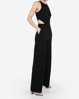 Express Petite Cut-Out Side Jumpsuit