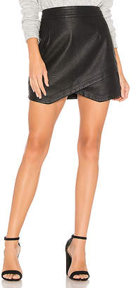 BB Dakota JACK by Angeline Faux Leather Skirt