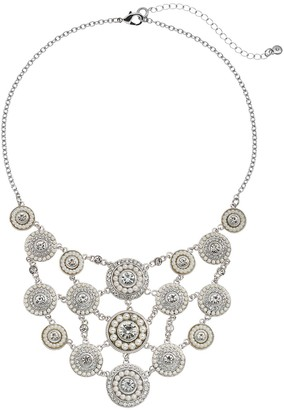Croft & Barrow Circle Statement Necklace