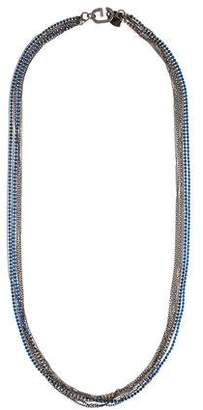 Giles & Brother Crystal Multistrand Necklace