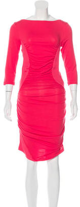 Twin.Set Ruched BodyCon Dress $75 thestylecure.com