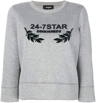 DSQUARED2 24-7 Star sweatshirt