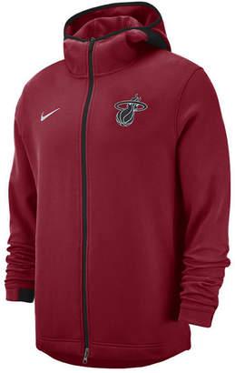 Nike Men Miami Heat Dry Showtime Full-Zip Hoodie