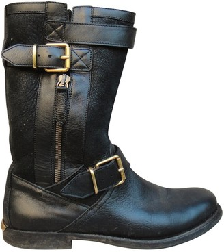 Burberry Leather snow boots
