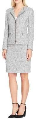 Tahari Arthur S. Levine Boucle Jacket and Skirt Suit
