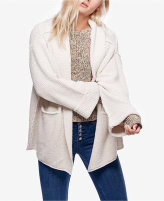 Free People Low Tide Shawl-Collar Duster Cardigan $128 thestylecure.com