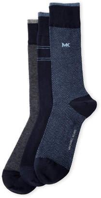Michael Kors 3-Pack Cotton Crew Socks