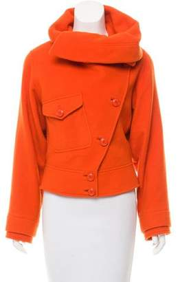 Ralph Lauren Purple Label Wool-Cashmere Short Coat