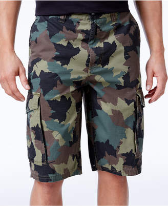 Lrg Men Big and Tall Ripstop Cargo Shorts
