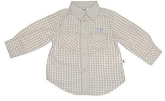 Kanz Baby-Boys Hemd 1/1 Arm Checkered Long Sleeve Shirt,(Manufacturer size: 74)
