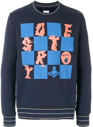 Vivienne Westwood check print sweatshirt