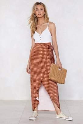 Nasty Gal I'm Dot Finished With You Polka Dot Skirt