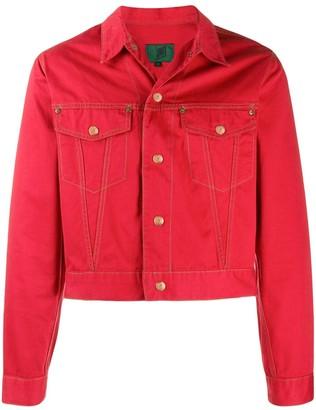 Jean Paul Gaultier Pre-Owned 1988 cropped denim jacket