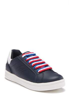 Geox DJ Rock Lace-Up Sneaker (Little Kid & Big Kid)