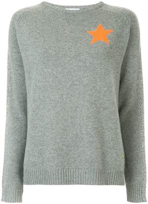 Bella Freud star intarsia sweater