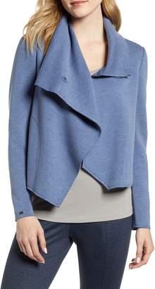 Anne Klein Asymmetrical Scuba Jacket