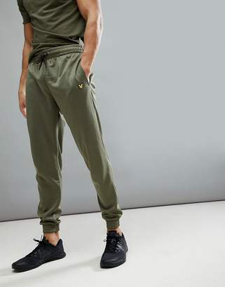 Lyle & Scott Fitness Hislop Jogger In Green Marl