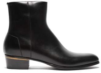 Dunhill Duke Calfskin Boot - Mens - Black