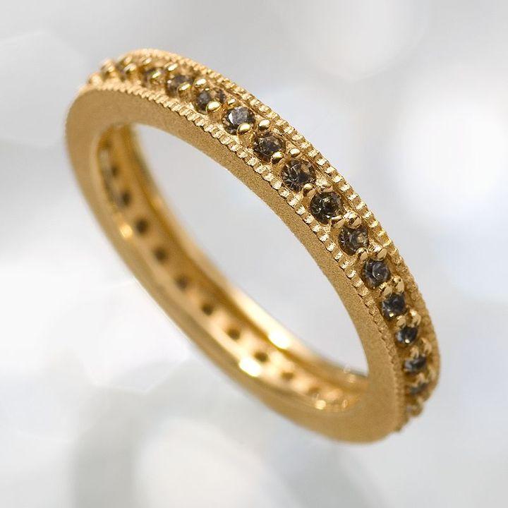 Simply vera vera wang 18k gold-over-silver crystal ring