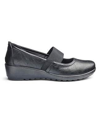 Cushion Walk Bar Shoes E Fit