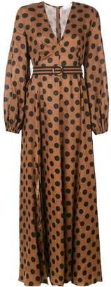 Zimmermann Juno split long dress