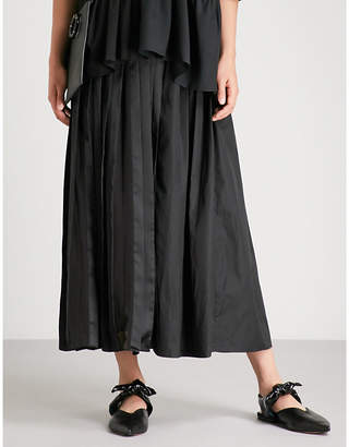 3.1 Phillip Lim Asymmetric pleated midi skirt