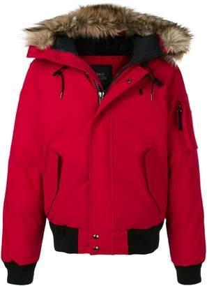 Polo Ralph Lauren faux-fur trimmed hood jacket