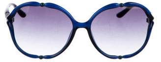 Missoni Oversize Gradient Sunglasses Blue Oversize Gradient Sunglasses