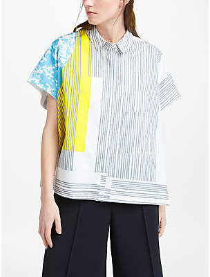John Lewis Kin by Laura Slater Limited Edition Sequence Print Shirt, Multi