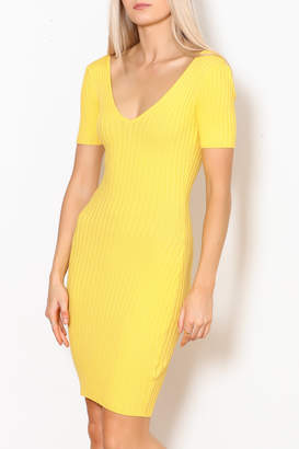 Hera Ribbed Bodycon Dress
