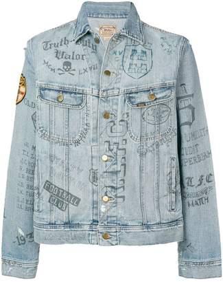 Polo Ralph Lauren Doodles denim jacket