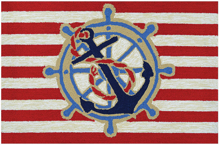 CouristanCouristan Ahoy Hooked Rectangle Accent Rug