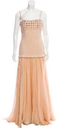 Herve Leger Embellished Woven Dress Embellished Woven Dress