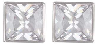 Cole Haan Square CZ Stud Earrings