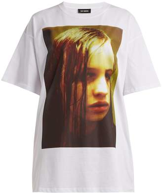 Raf Simons Christiane F. photographic-print T-shirt