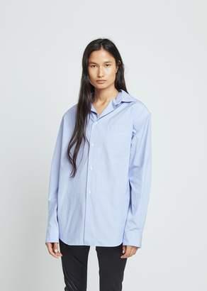 Junya Watanabe Polyester Cotton Chambray Top