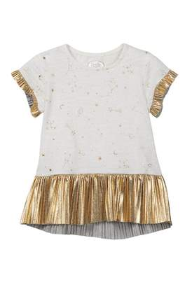 Couture Frenchie Mini Pleated Trim Dress (Baby, Toddler, Little Girls, & Big Girls)